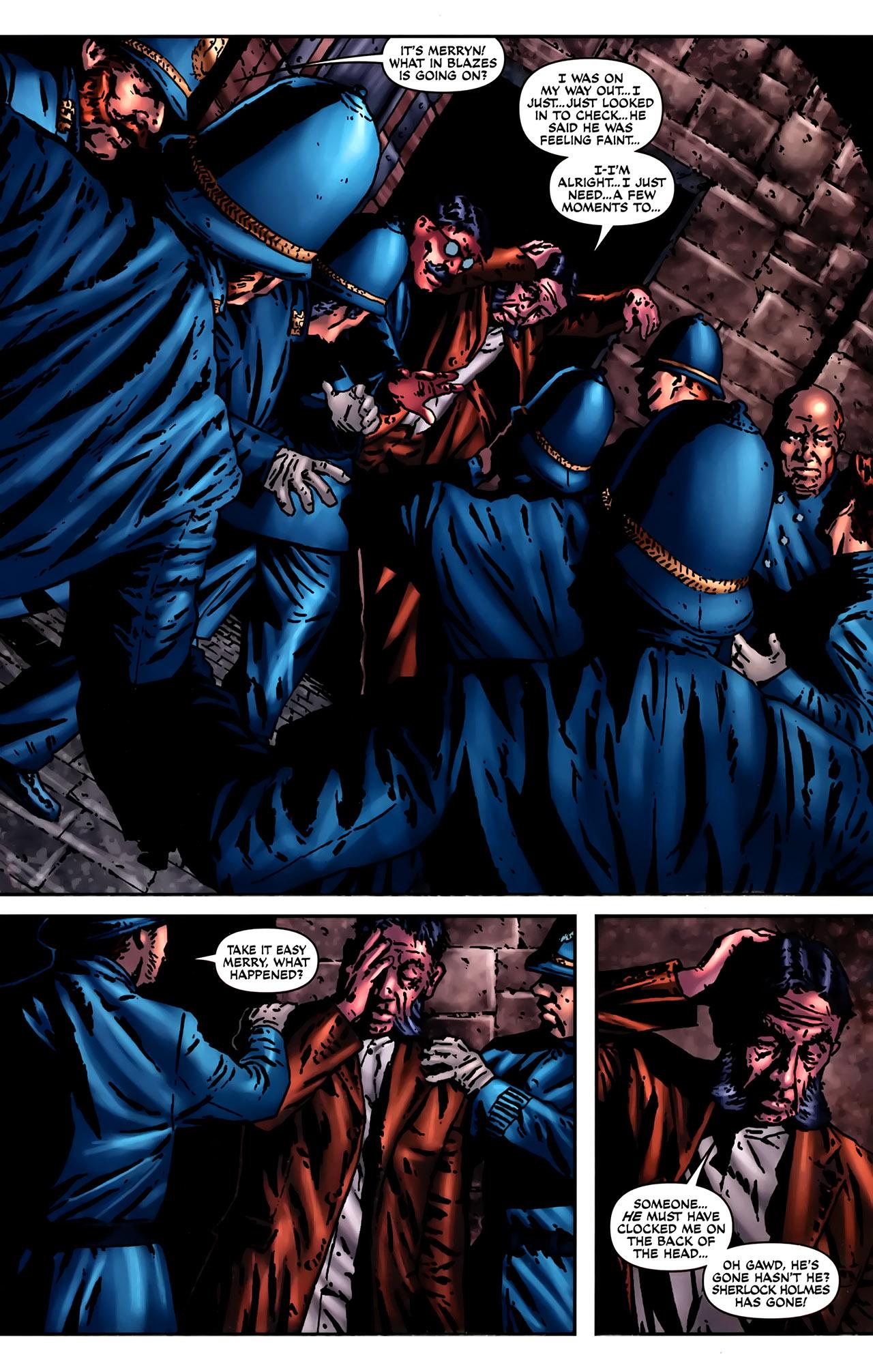 Read online Sherlock Holmes (2009) comic -  Issue #2 - 23