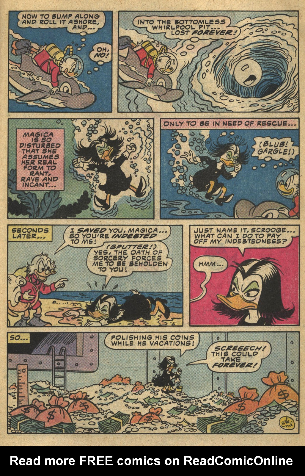 Read online Uncle Scrooge (1953) comic -  Issue #193 - 13