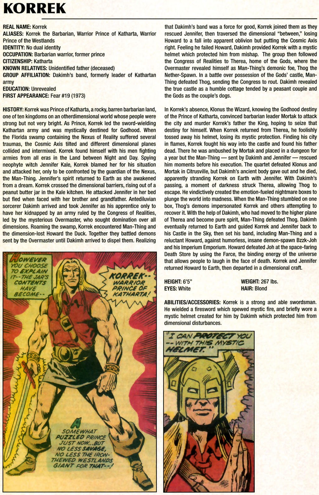 Read online Marvel Legacy: The 1970's Handbook comic -  Issue # Full - 32