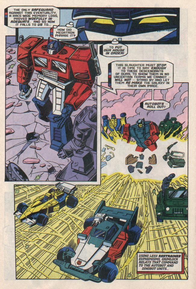 Read online Transformers: Generation 2 comic -  Issue #8 - 12