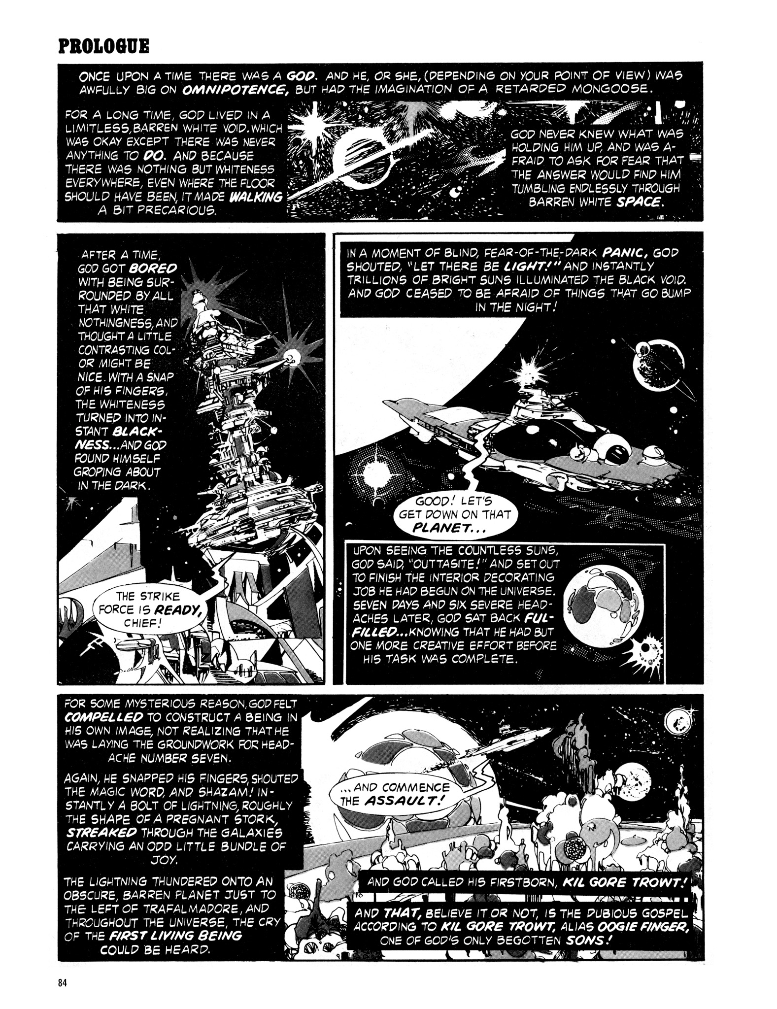 Read online Eerie Archives comic -  Issue # TPB 16 - 85