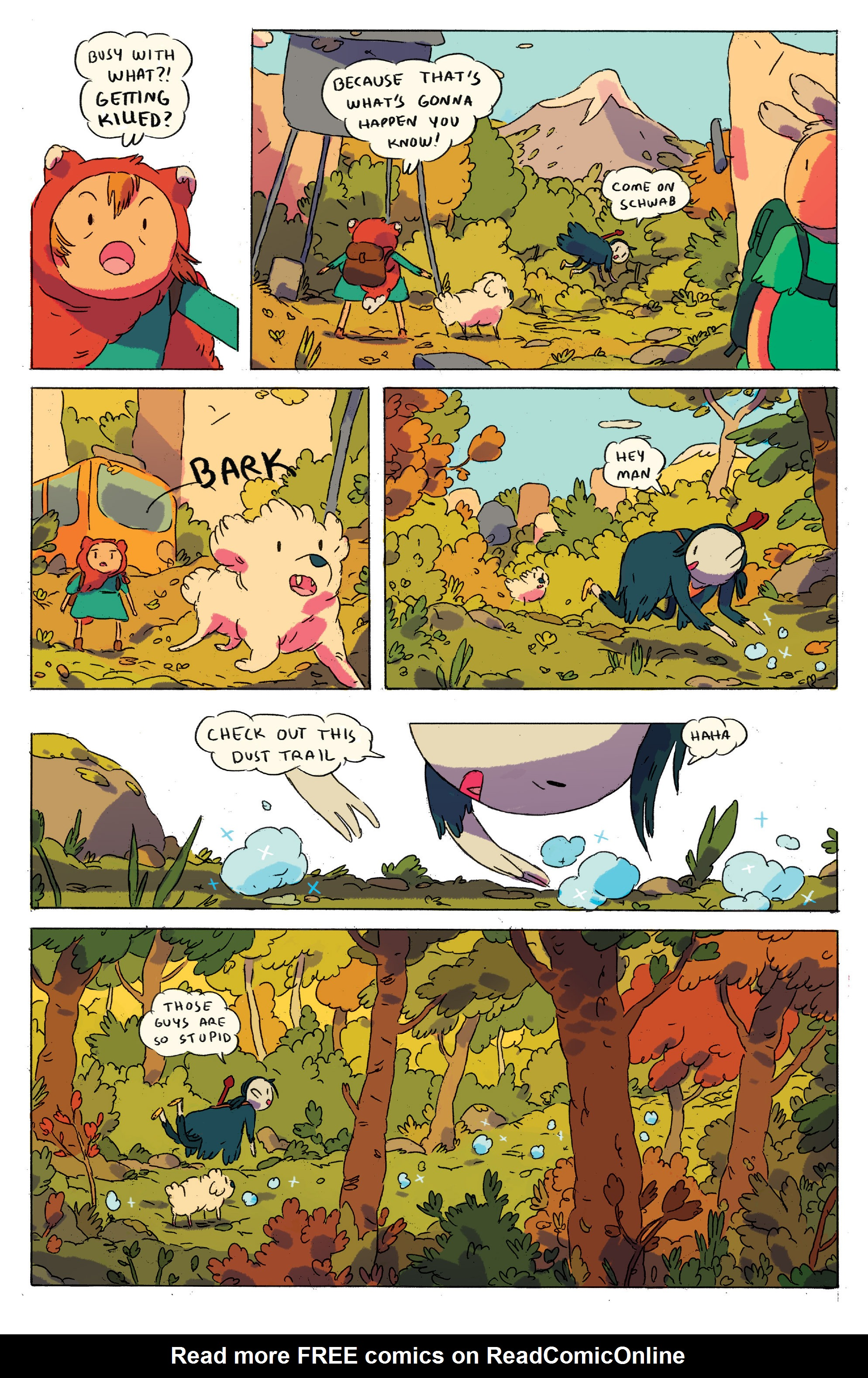 Read online Adventure Time comic -  Issue # _2015 Spoooktacular - 22