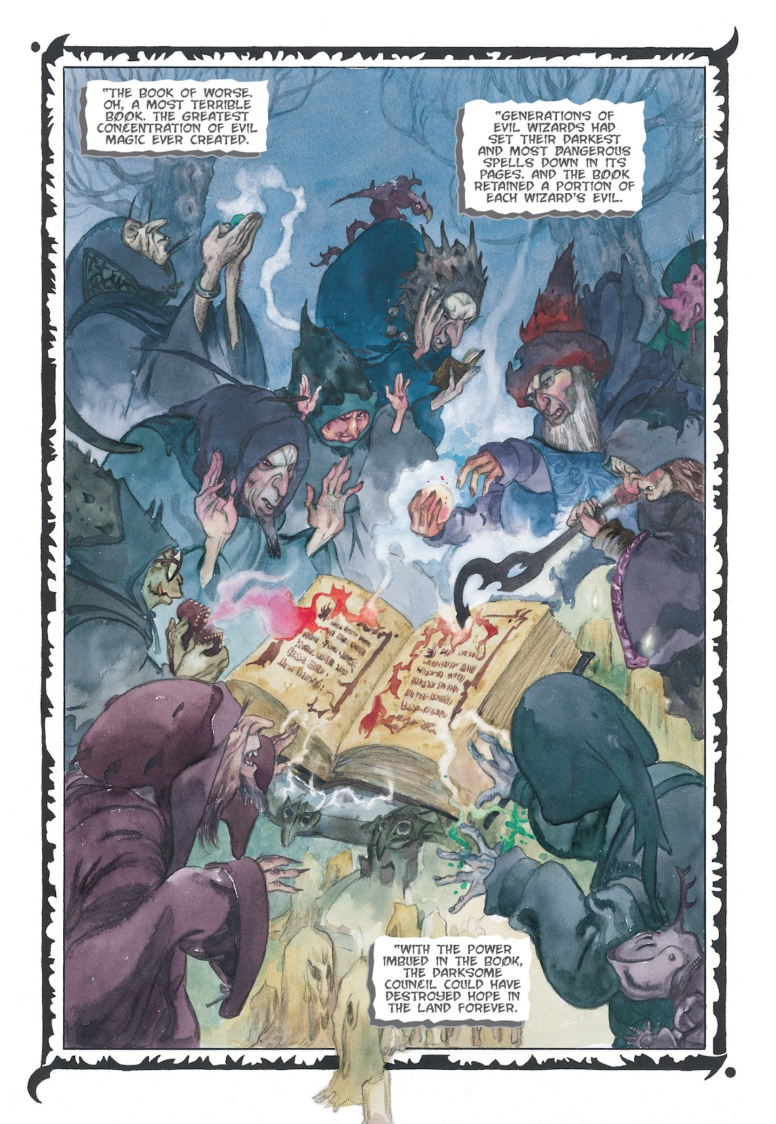 Read online The Wizard's Tale comic -  Issue # TPB - 27