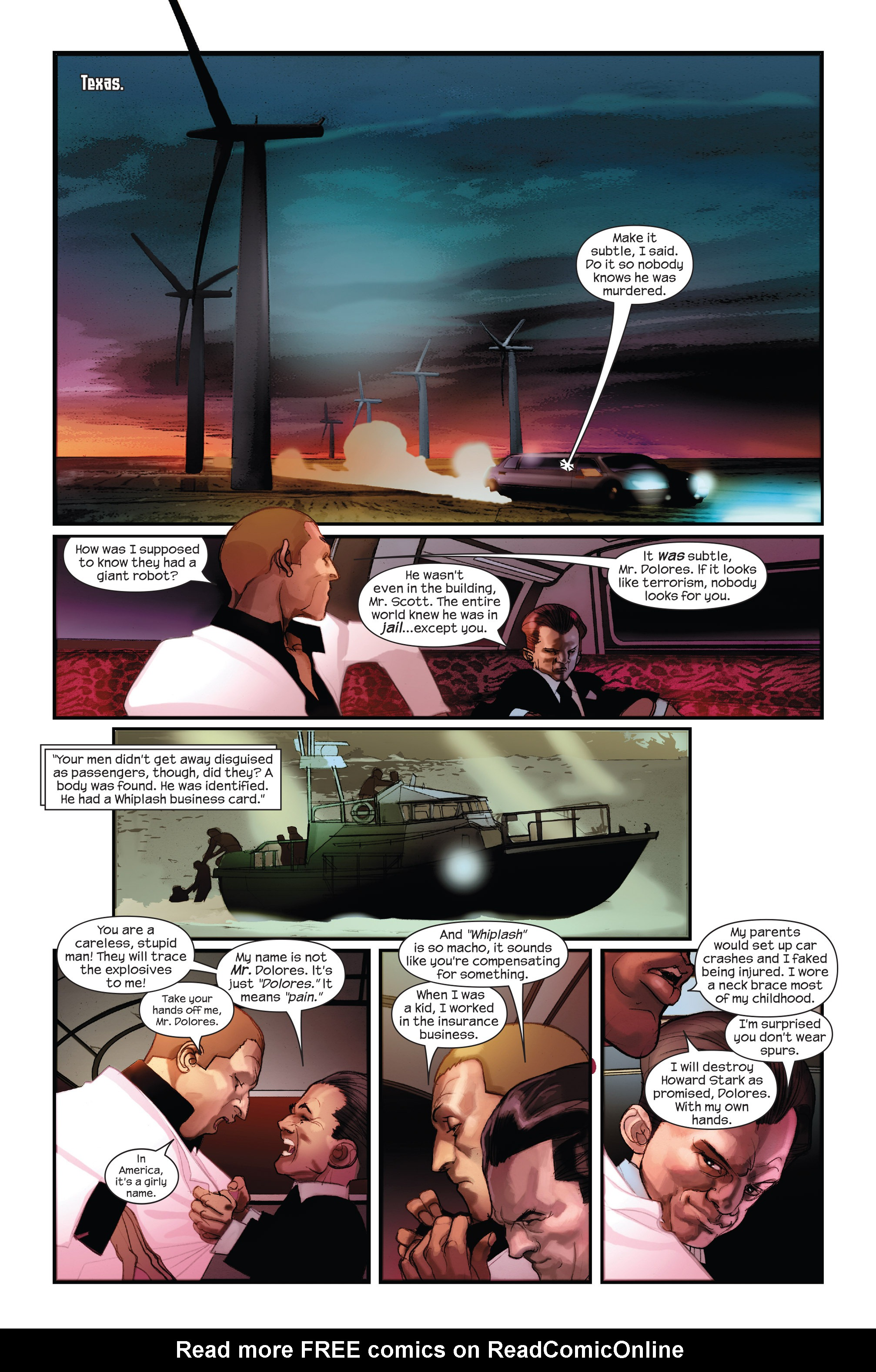 Read online Ultimate Iron Man II comic -  Issue #1 - 6