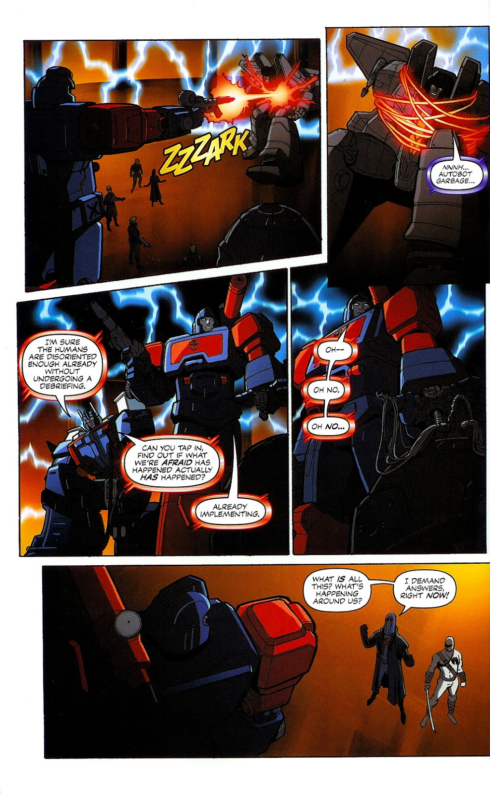 G.I. Joe vs. The Transformers II Issue #1 #2 - English 29
