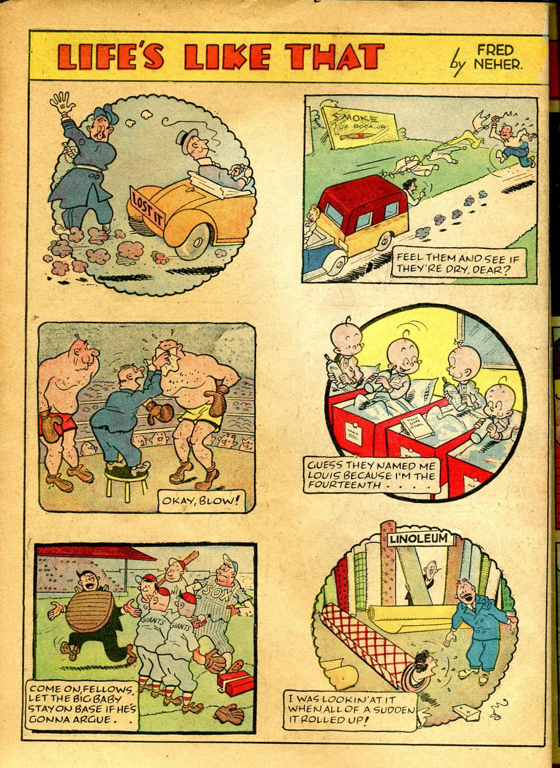 Read online Famous Funnies comic -  Issue #41 - 58