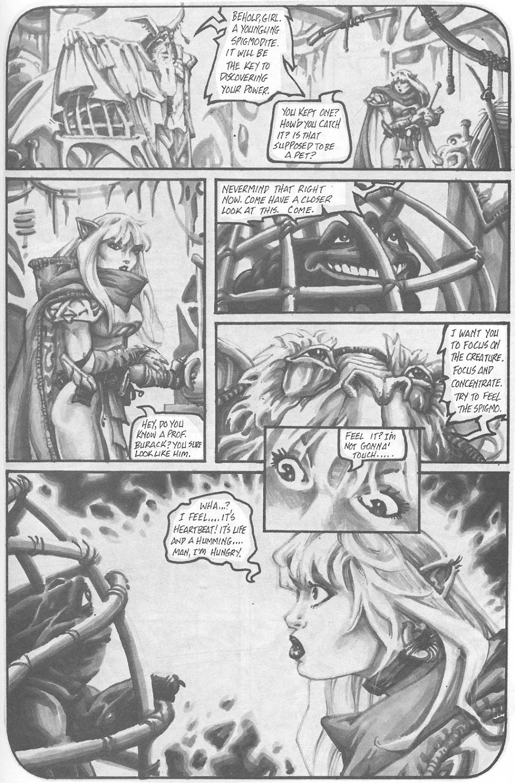 Read online Animal Mystic comic -  Issue #4 - 8
