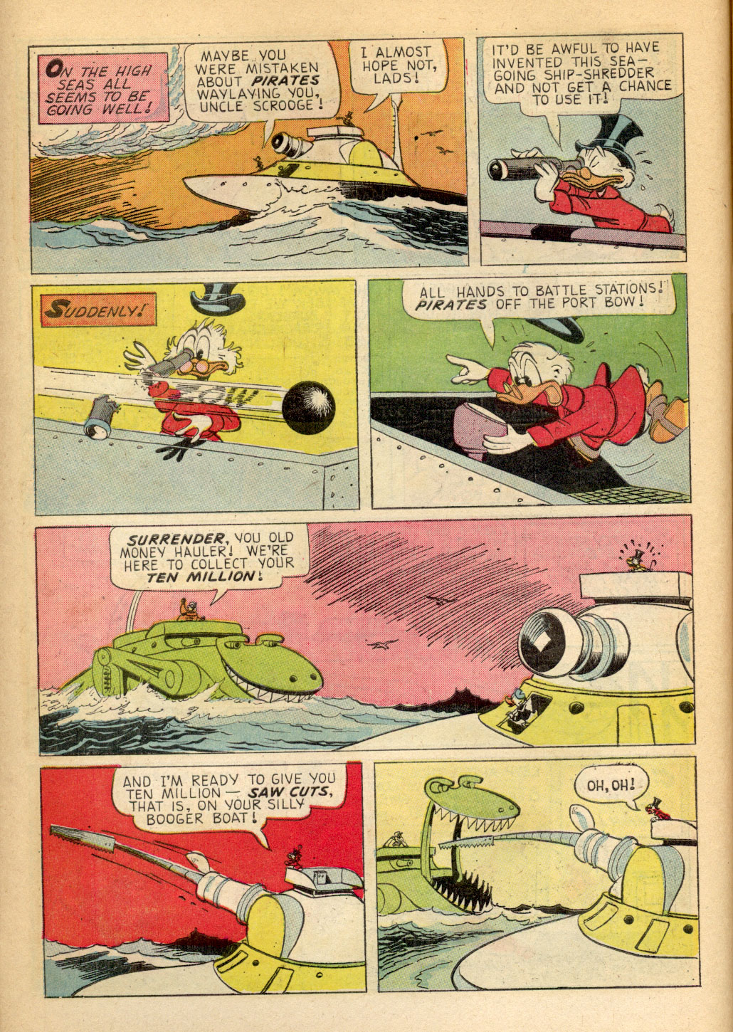 Read online Uncle Scrooge (1953) comic -  Issue #70 - 10
