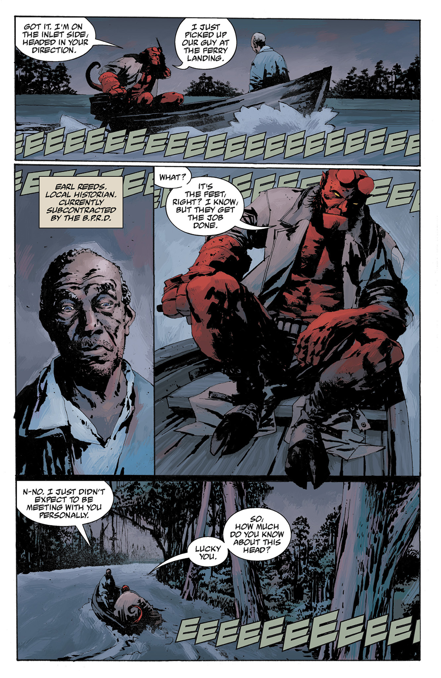 Read online Hellboy: The Crooked Man and Others comic -  Issue # TPB - 89