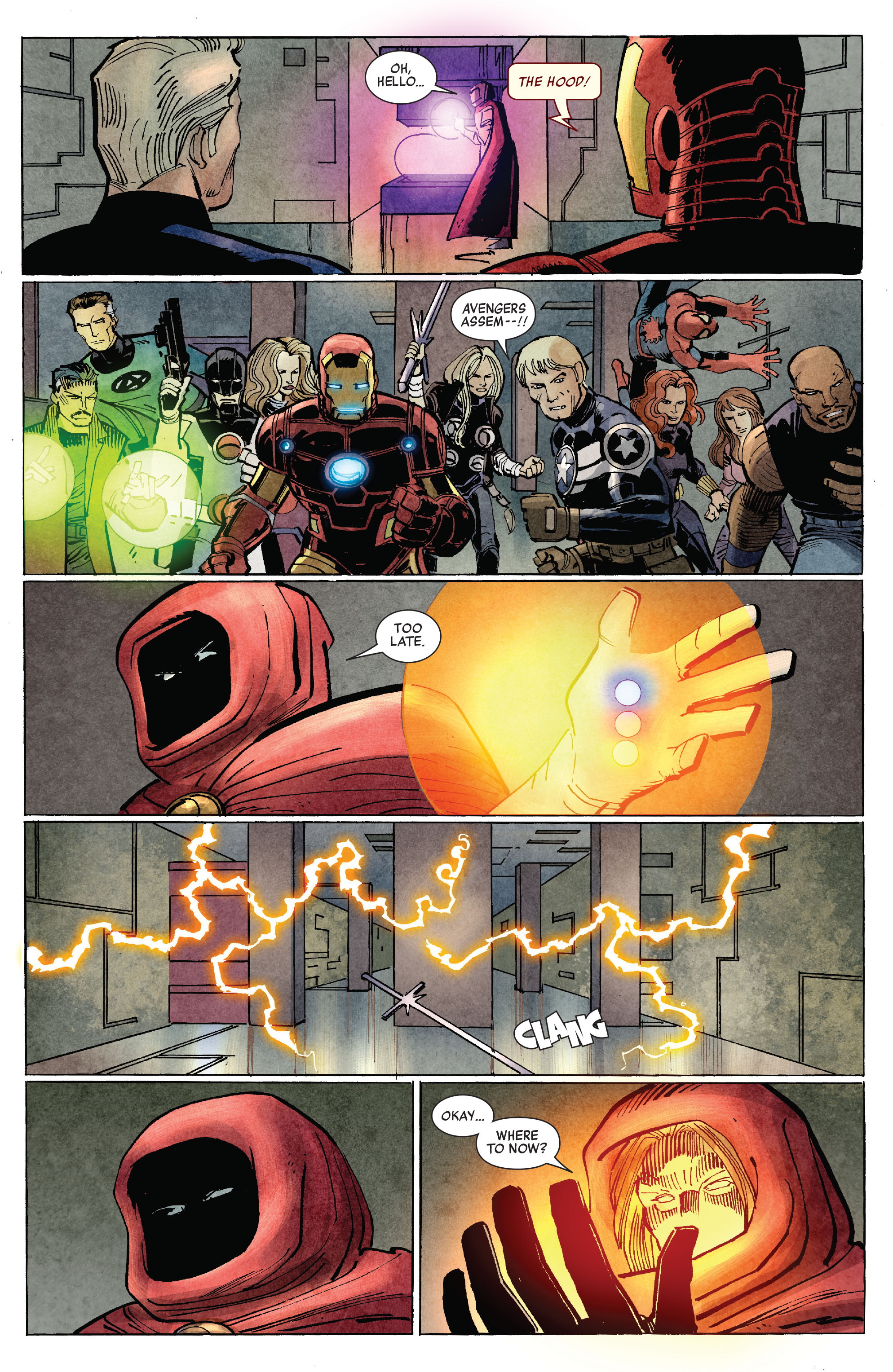 Read online Avengers (2010) comic -  Issue #10 - 20