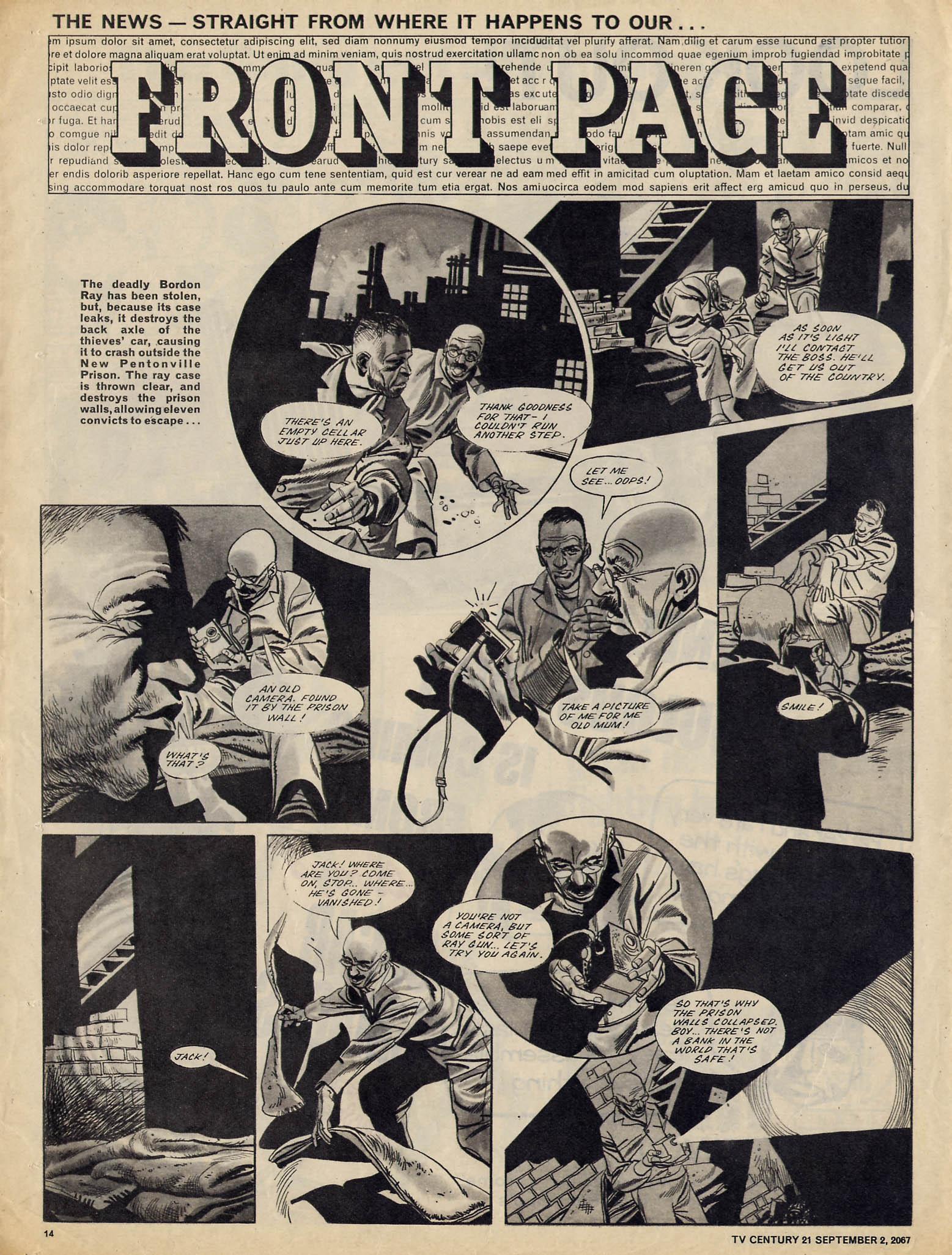 Read online TV Century 21 (TV 21) comic -  Issue #137 - 13