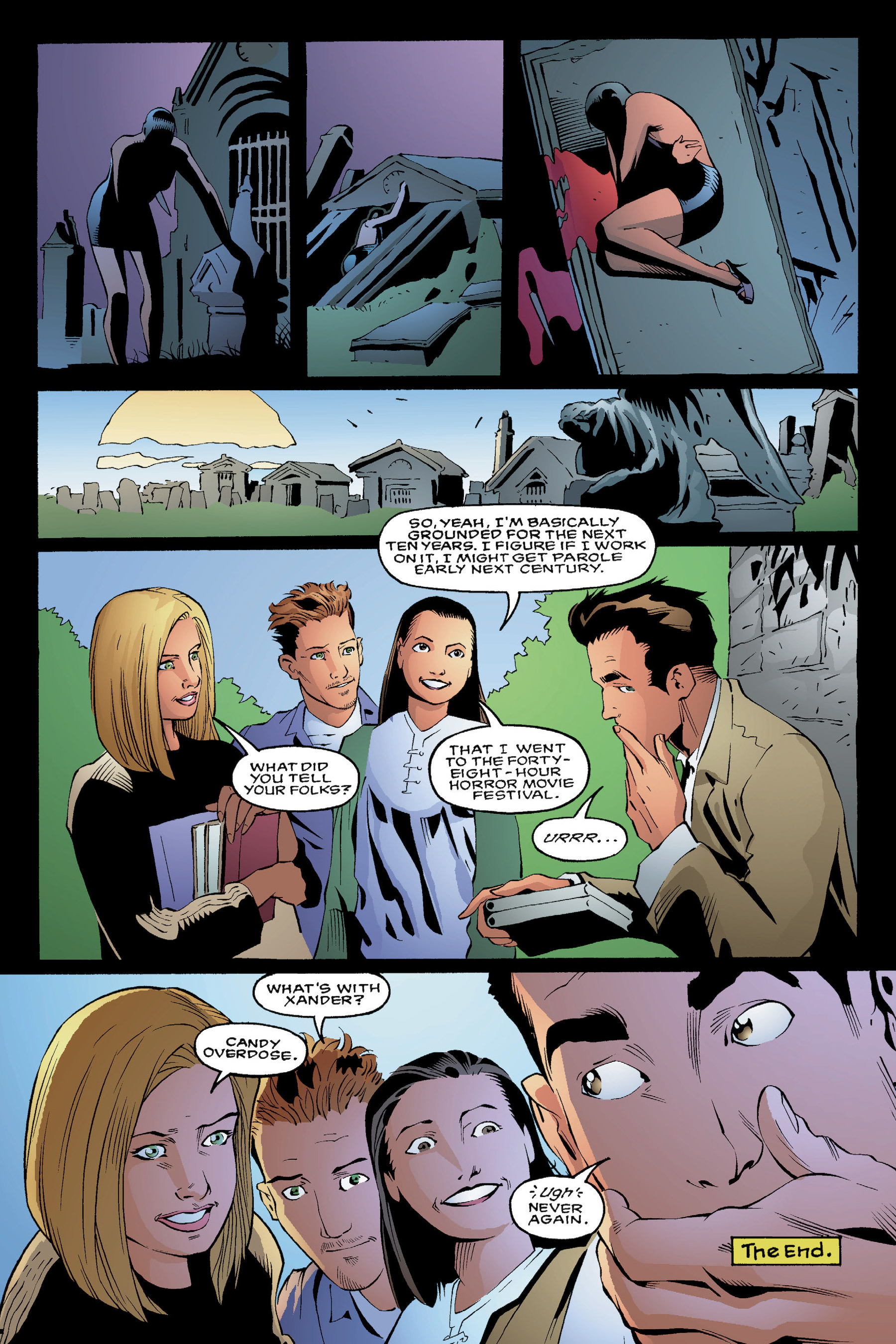 Read online Buffy the Vampire Slayer: Omnibus comic -  Issue # TPB 3 - 54