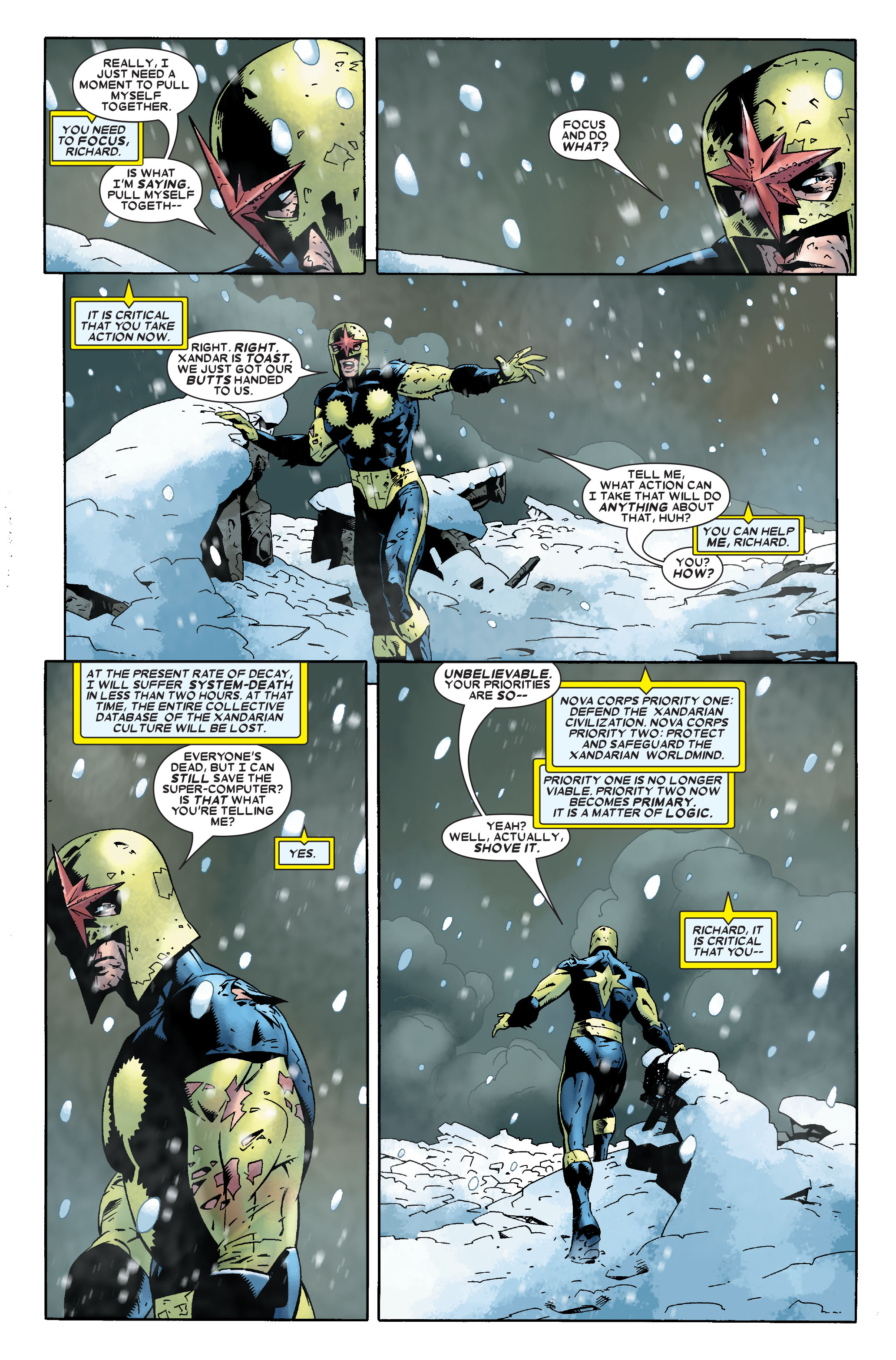 Read online Annihilation: Nova comic -  Issue #1 - 8