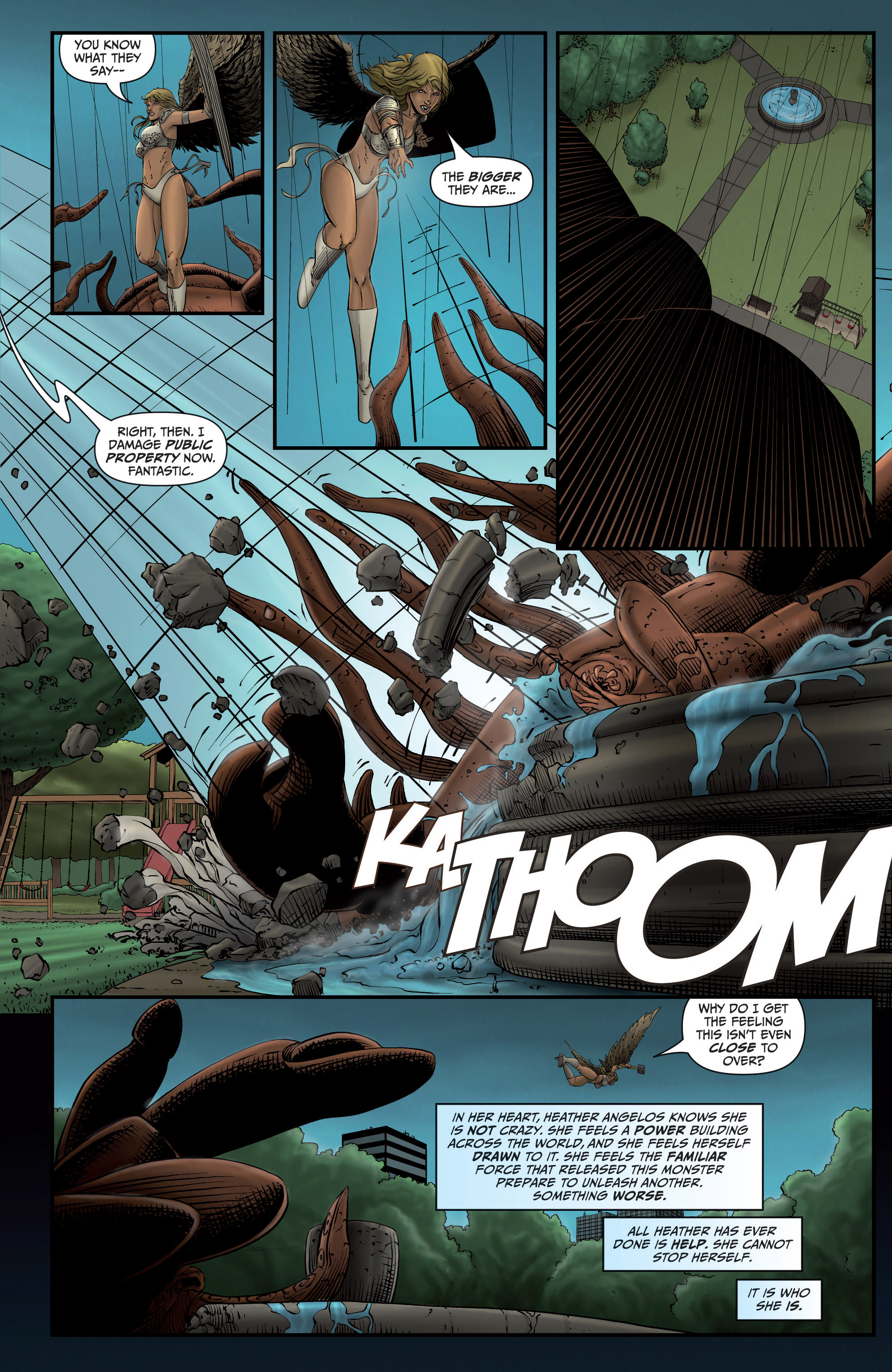 Read online Grimm Fairy Tales presents Grimm Universe comic -  Issue # TPB - 51