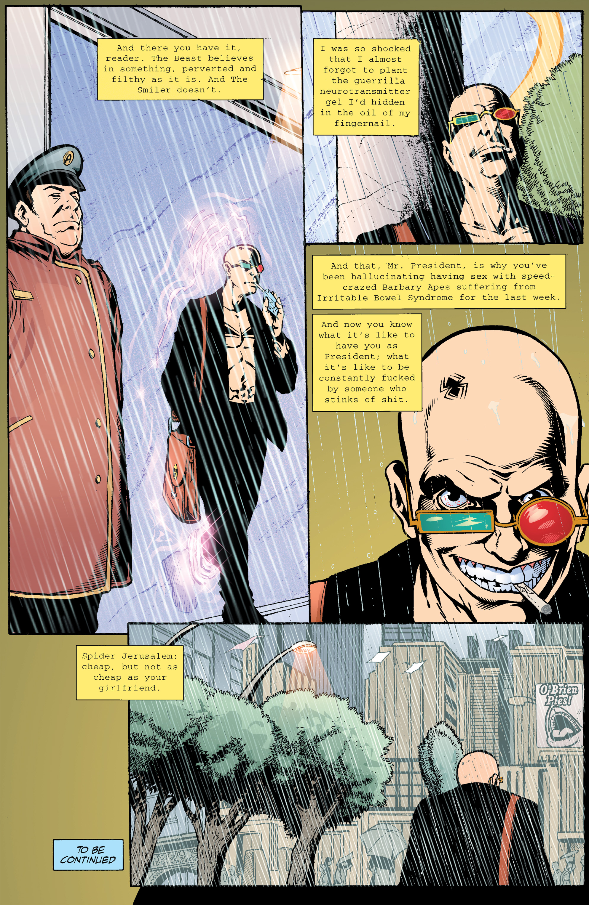Read online Transmetropolitan comic -  Issue #21 - 23