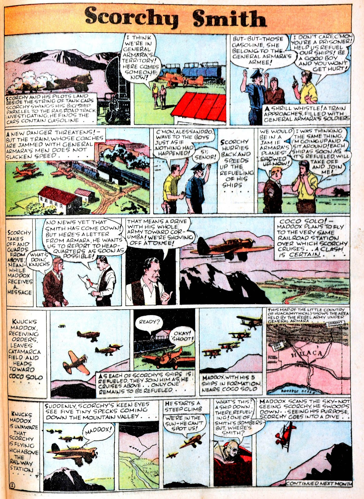 Read online Famous Funnies comic -  Issue #38 - 45