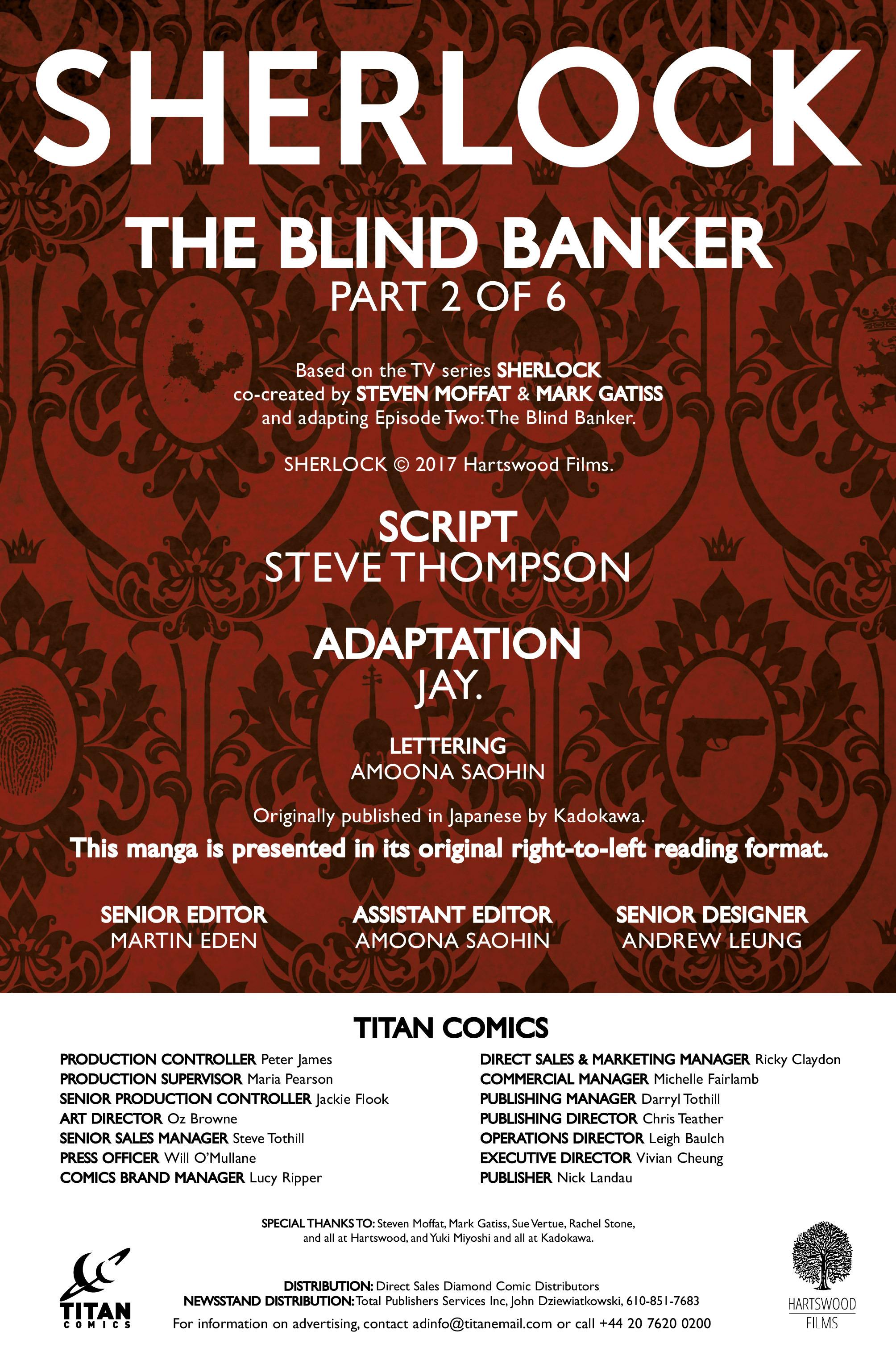 Read online Sherlock: The Blind Banker comic -  Issue #2 - 5