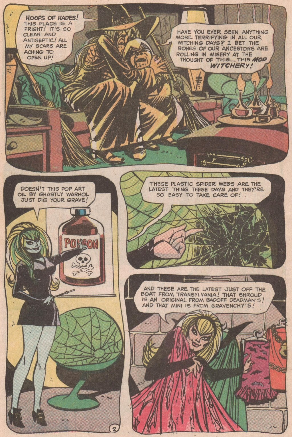 The Witching Hour (1969) issue 6 - Page 3