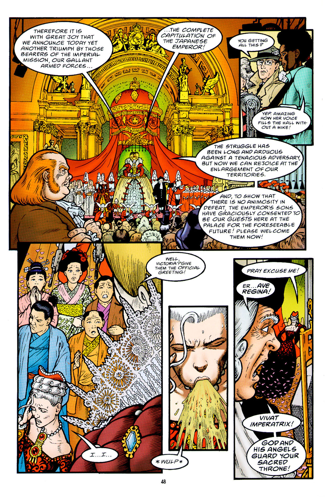 Read online Heart of Empire comic -  Issue #2 - 16