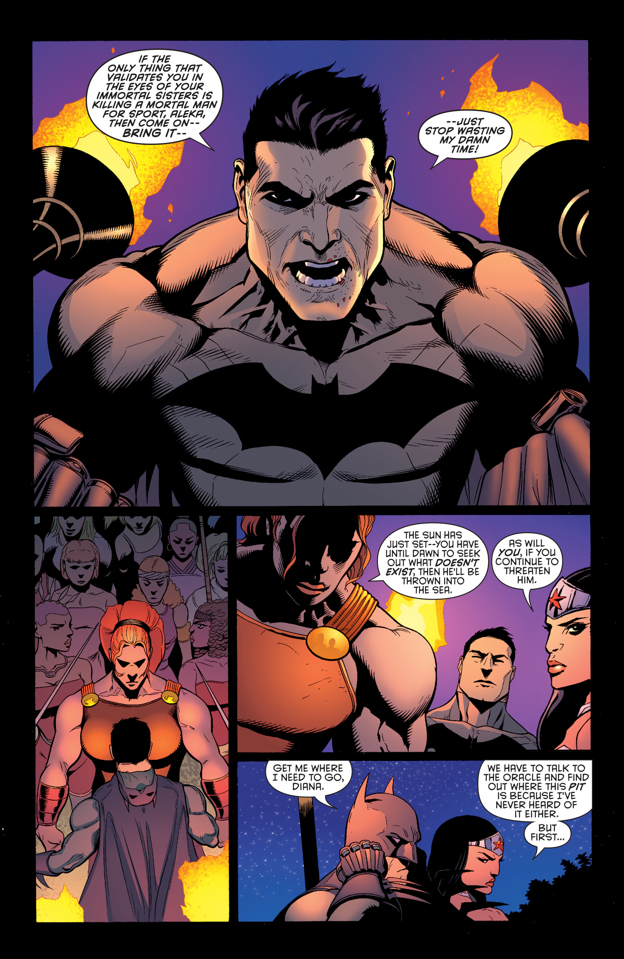 Read online Batman and Robin (2011) comic -  Issue #30 - Batman and Wonder Woman - 6