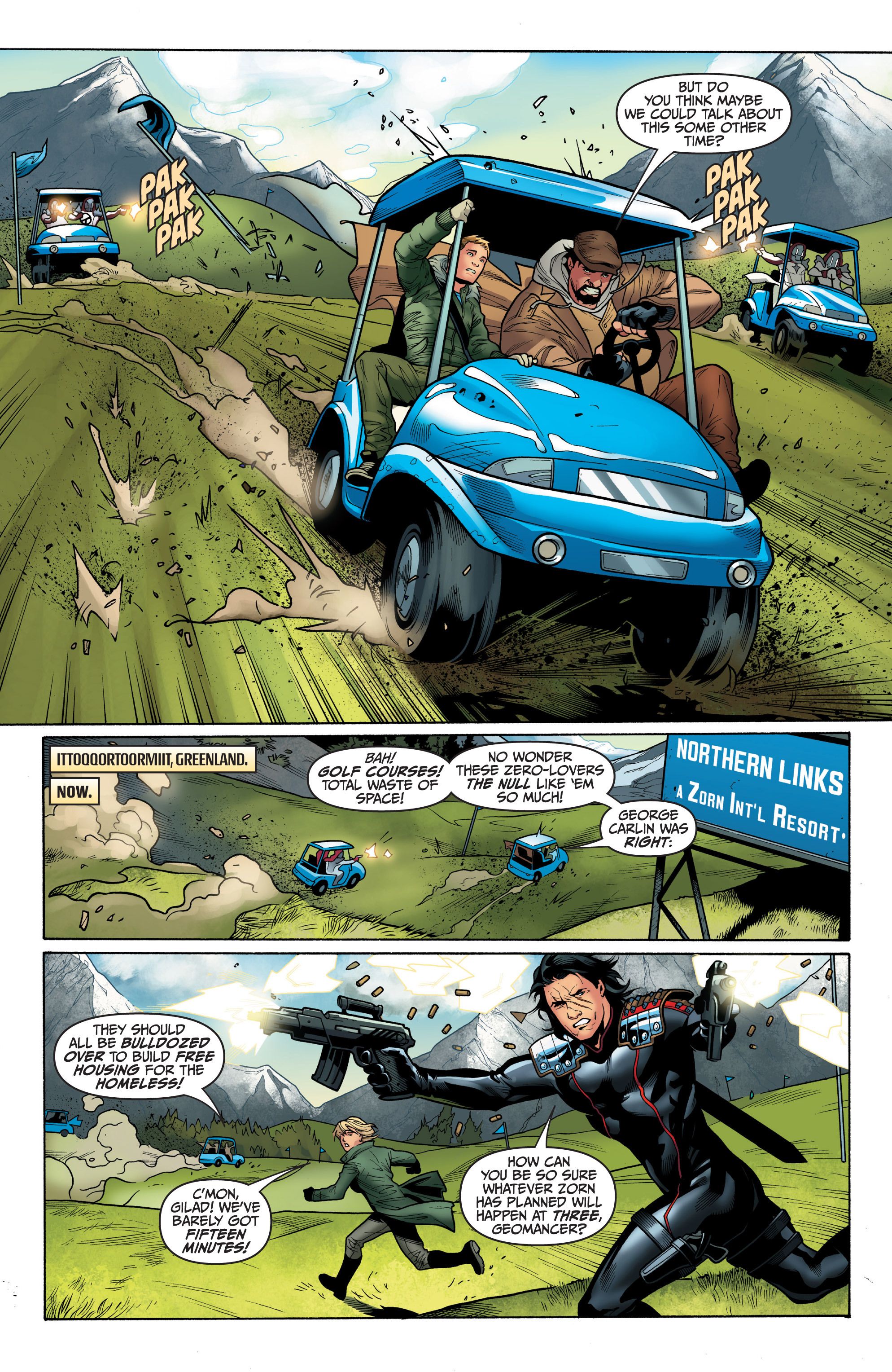 Read online Archer and Armstrong comic -  Issue #8 - 9