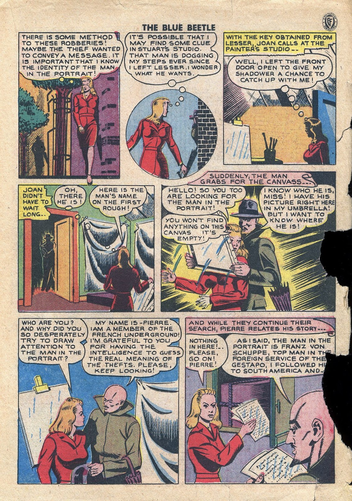 The Blue Beetle issue 34 - Page 24