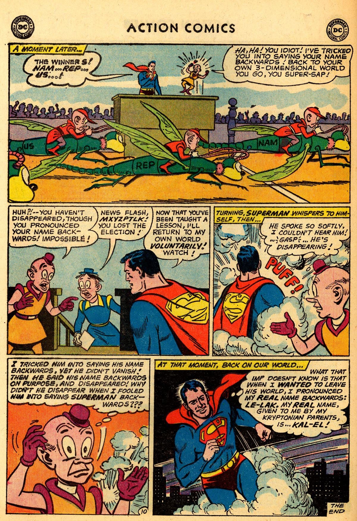 Read online Action Comics (1938) comic -  Issue #273 - 12