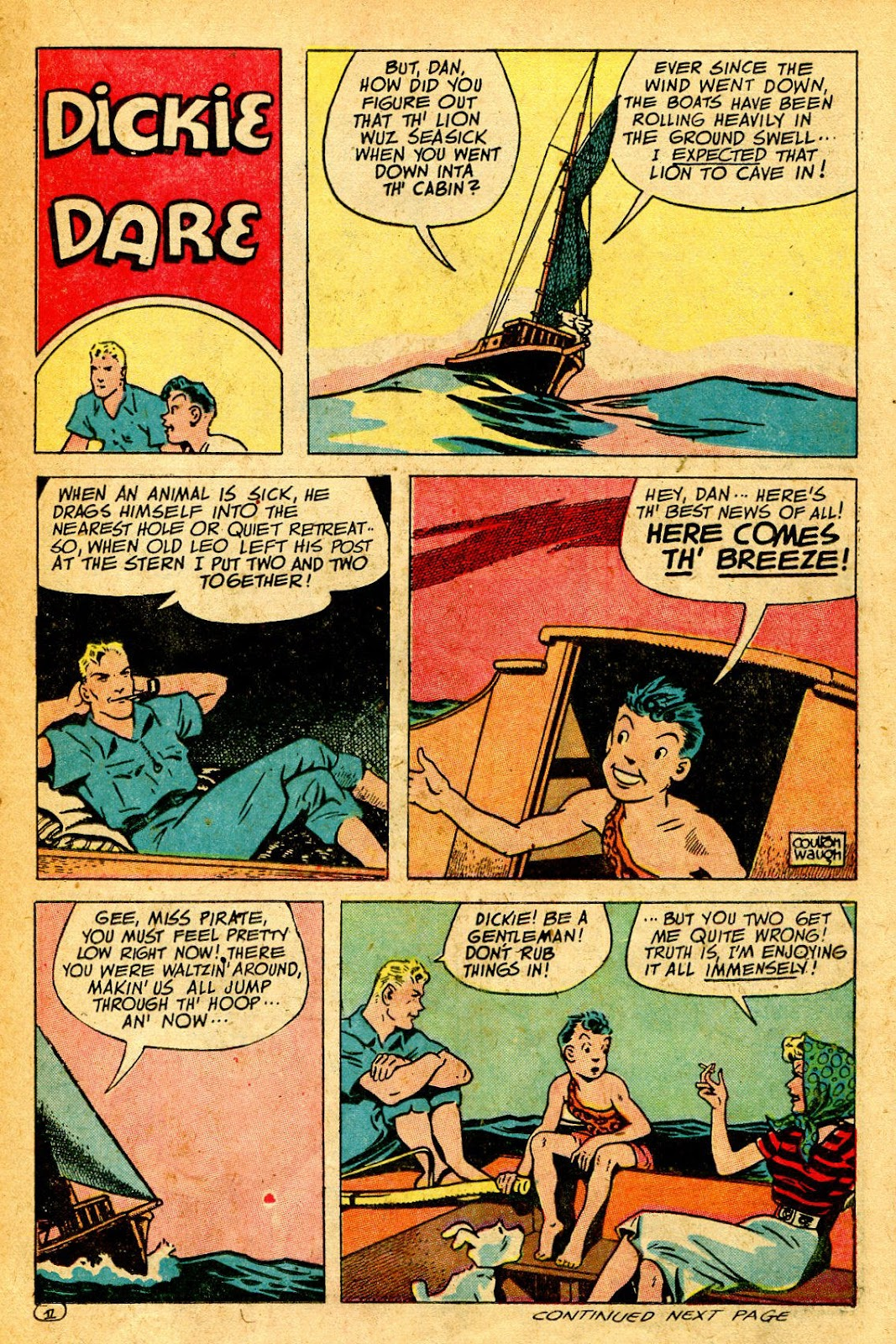 Read online Famous Funnies comic -  Issue #126 - 21