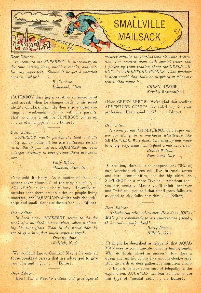 Read online Adventure Comics (1938) comic -  Issue #254 - 26