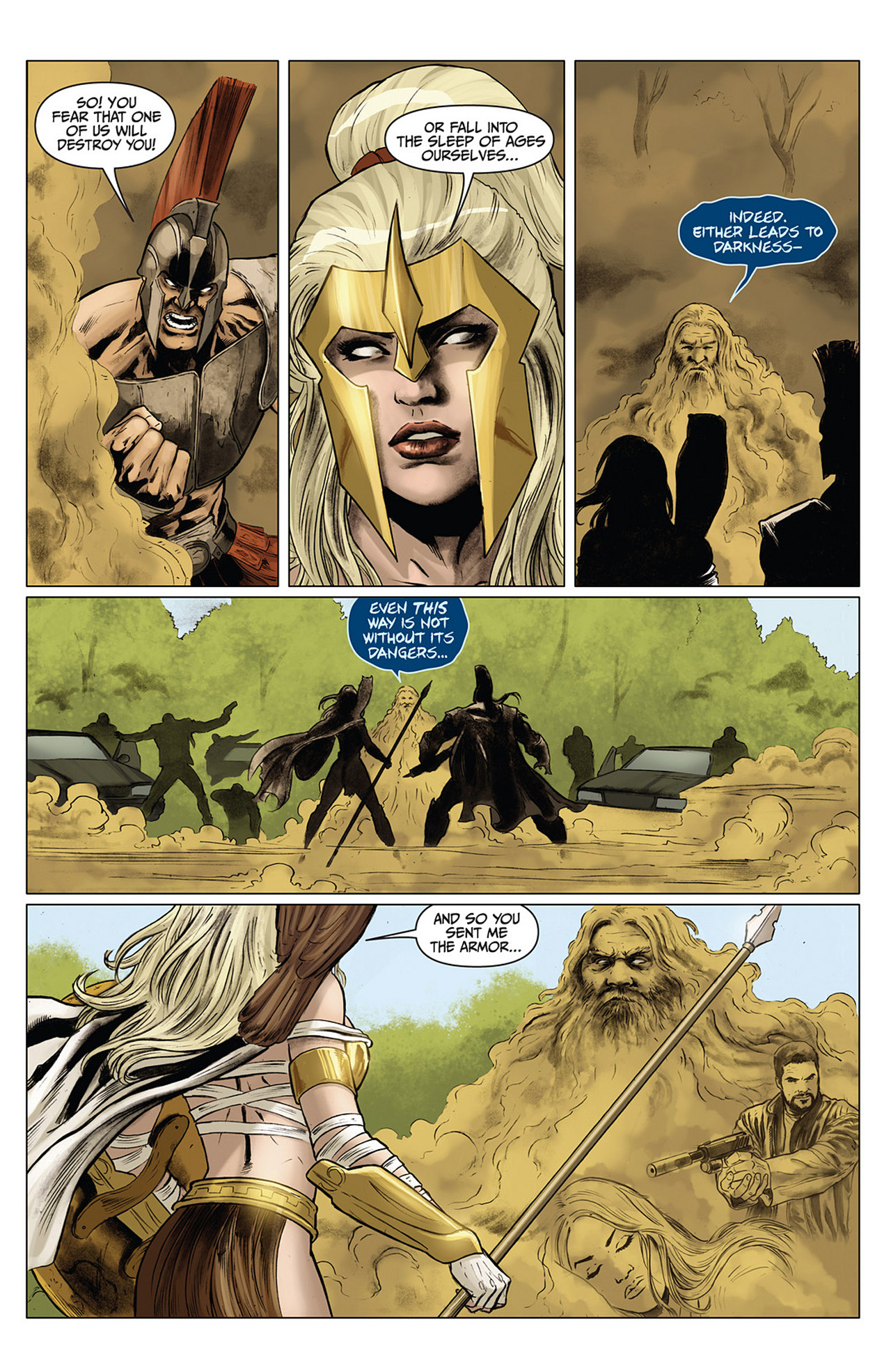 Read online Athena comic -  Issue #3 - 13