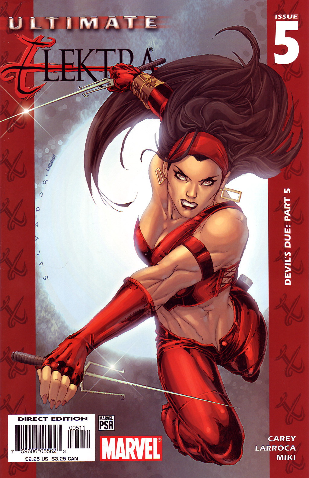 Read online Ultimate Elektra comic -  Issue #5 - 2