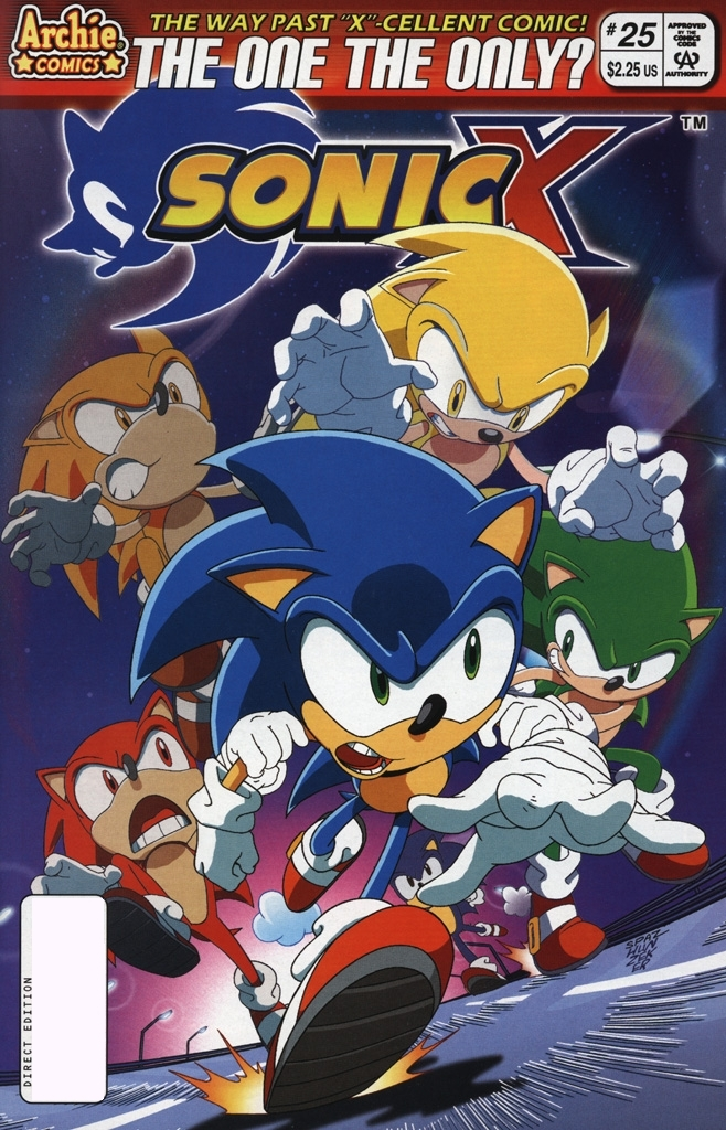Read online Sonic X comic -  Issue #25 - 1