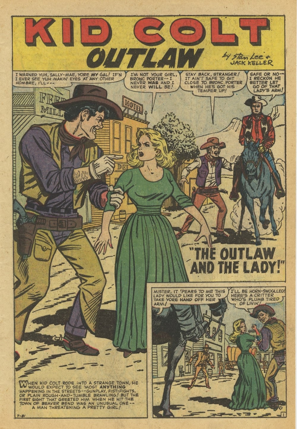 Kid Colt Outlaw issue 82 - Page 3