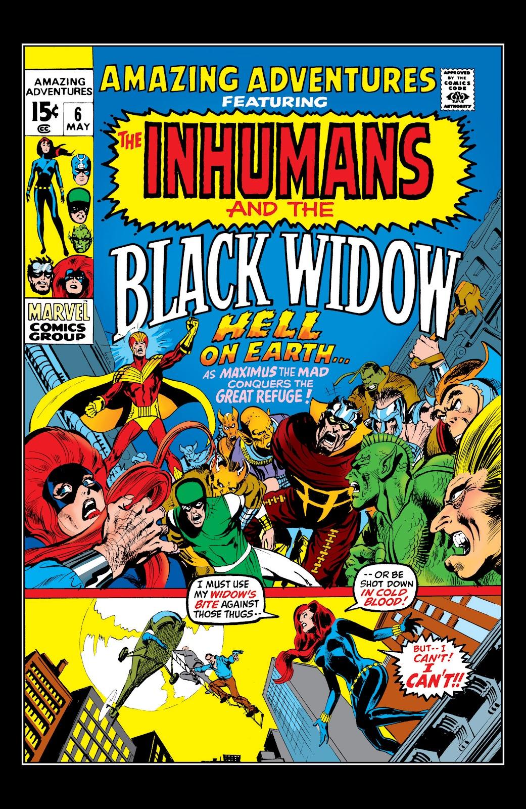 Read online Marvel Masterworks: The Inhumans comic -  Issue # TPB 1 (Part 2) - 24