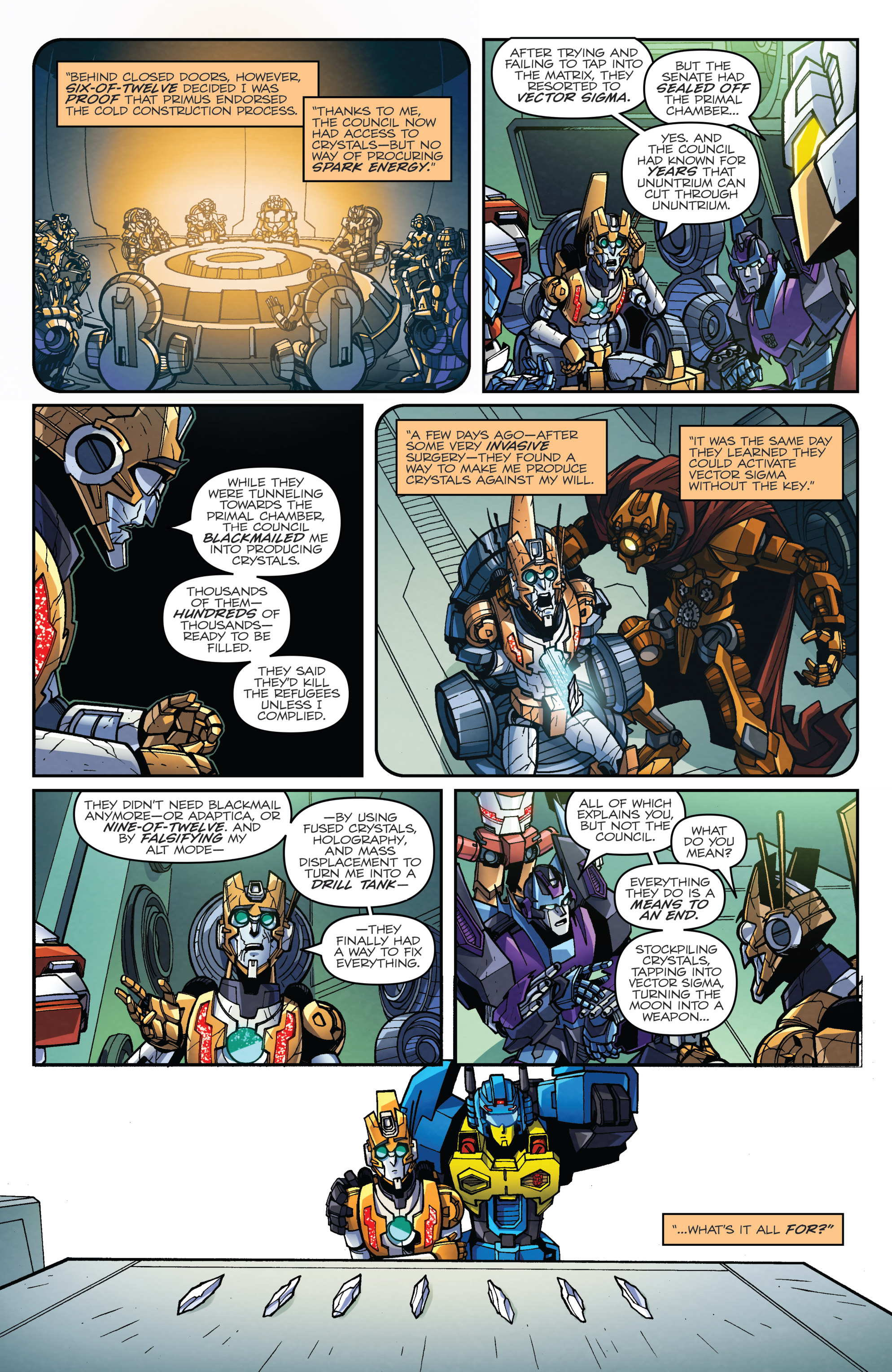 Read online Transformers: Lost Light comic -  Issue #5 - 15