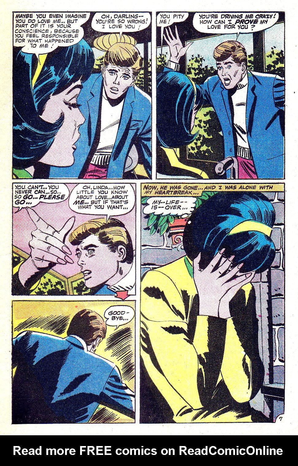 Read online Secret Hearts comic -  Issue #131 - 9