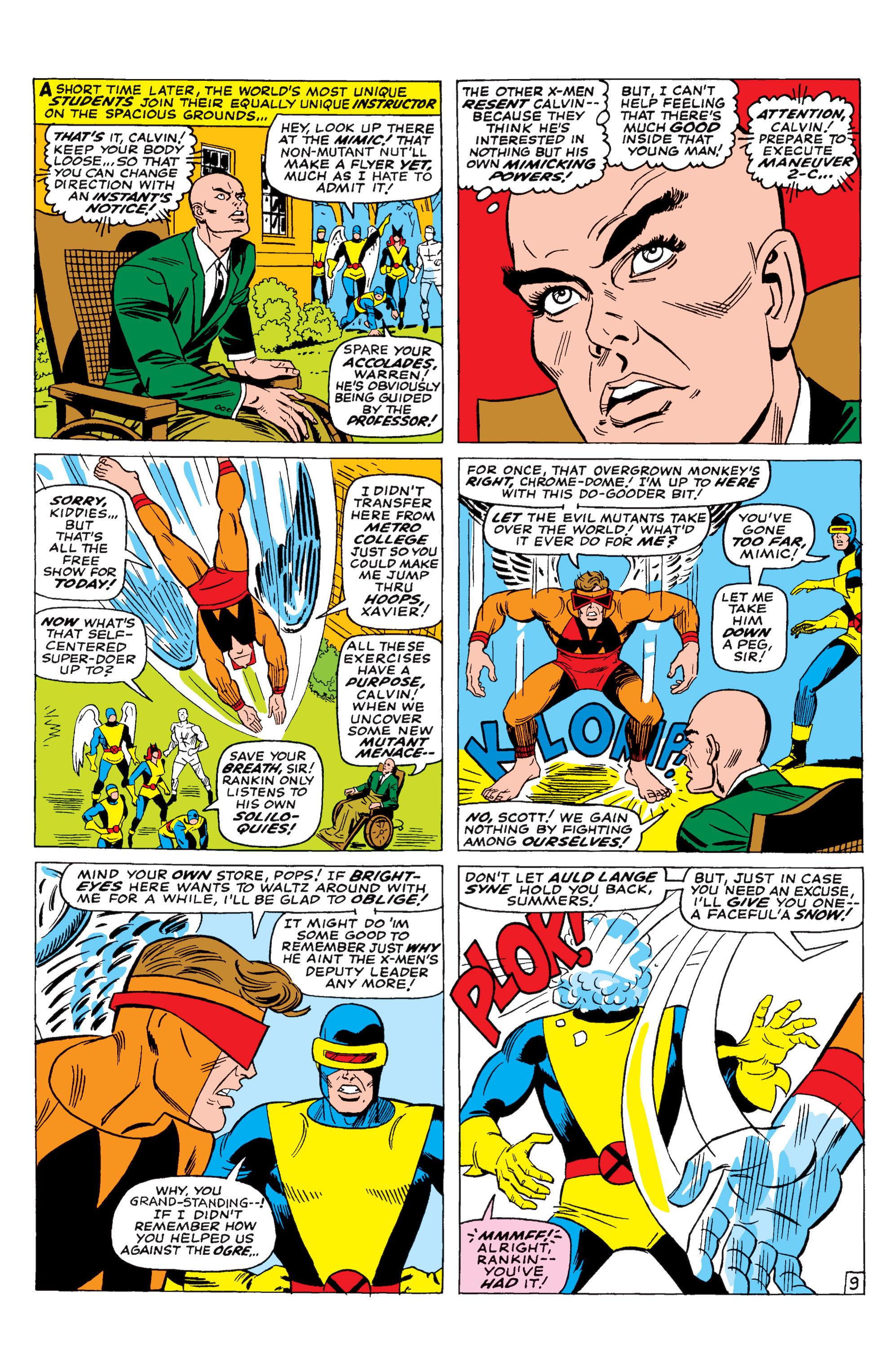 Read online Uncanny X-Men (1963) comic -  Issue #29 - 10