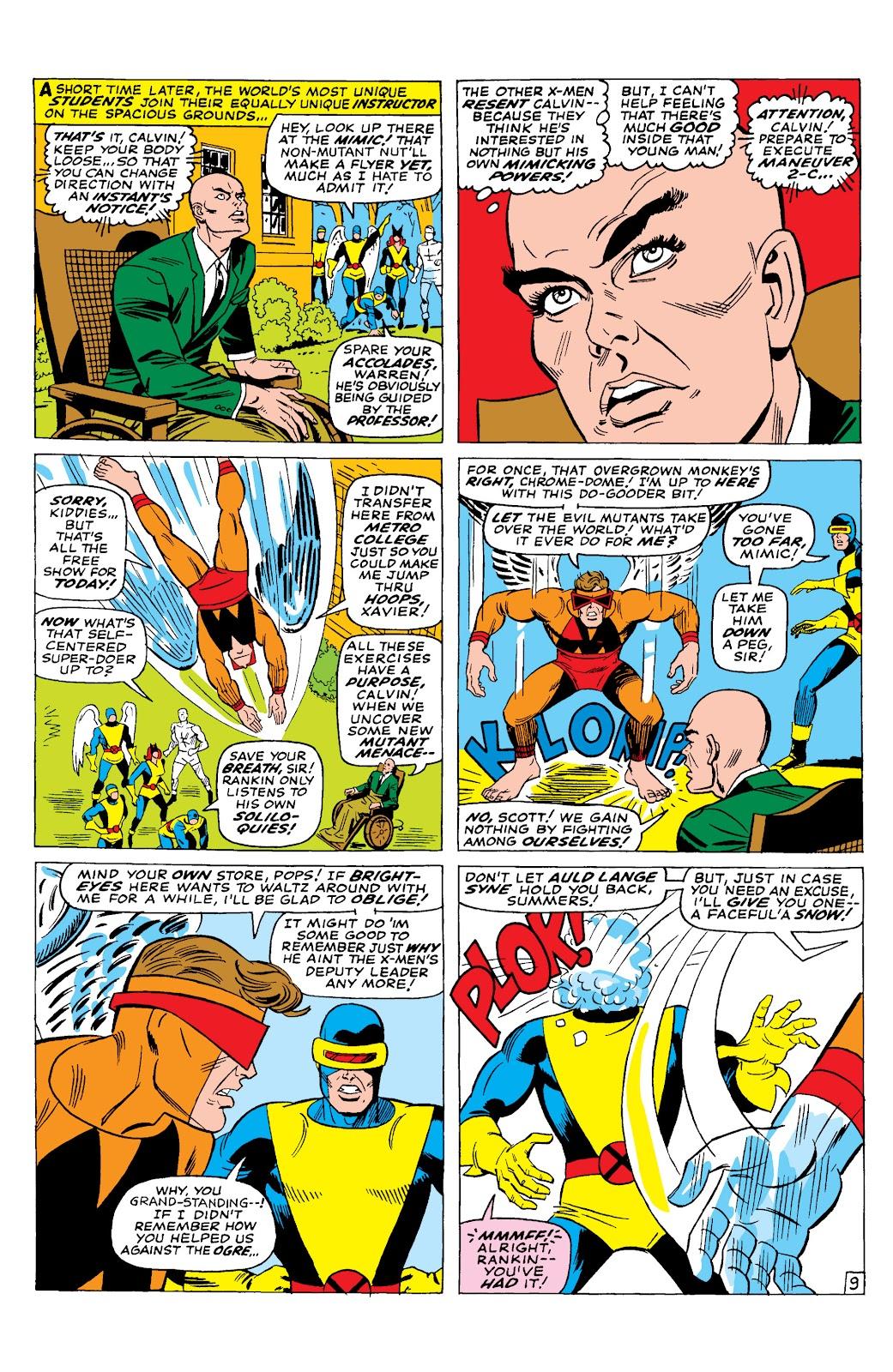 Uncanny X-Men (1963) issue 29 - Page 10