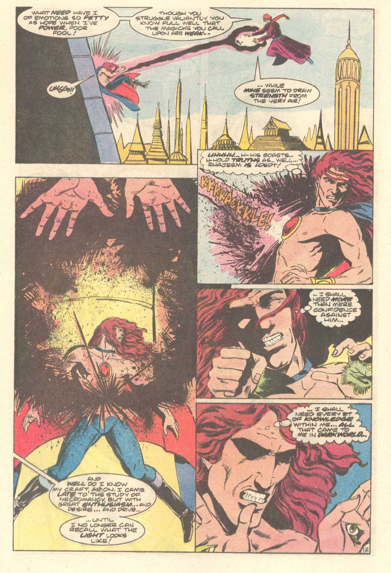 Read online Arion, Lord of Atlantis comic -  Issue #35 - 13
