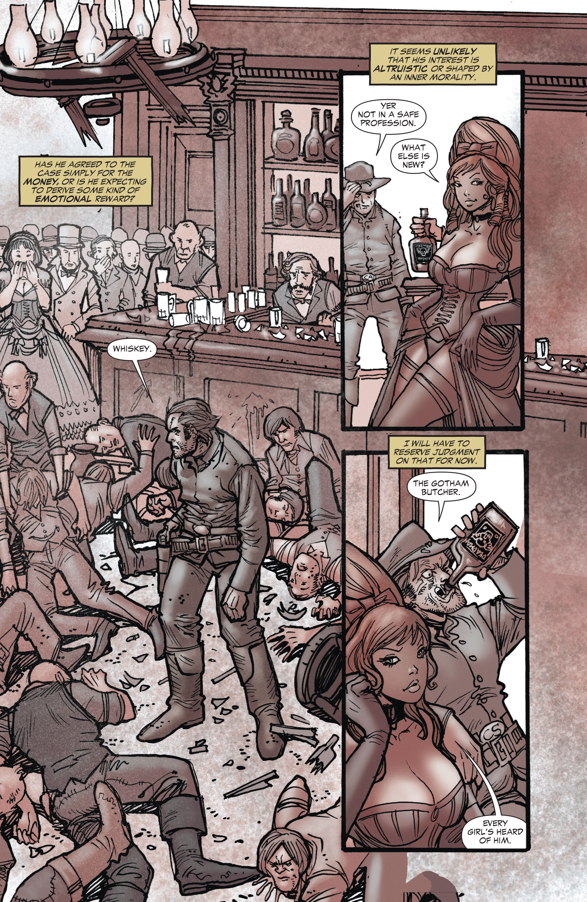 Read online All-Star Western (2011) comic -  Issue #1 - 17