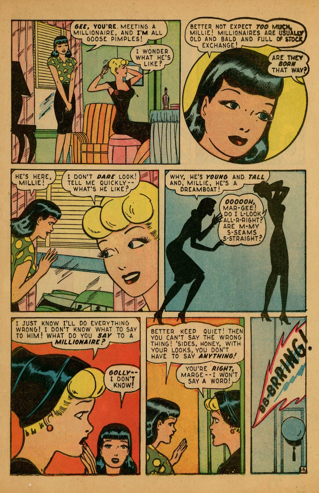Read online Millie the Model comic -  Issue #7 - 31