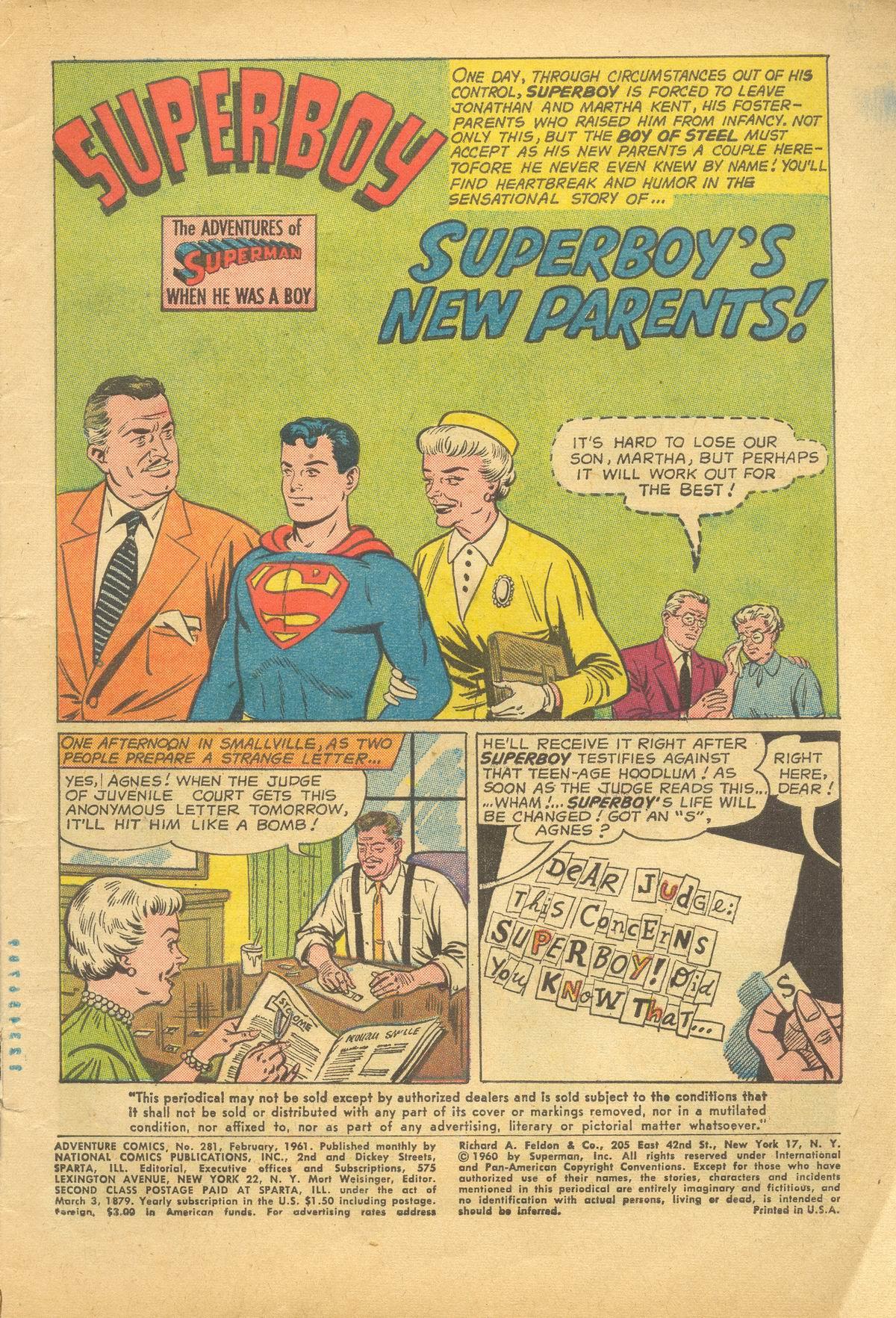 Read online Adventure Comics (1938) comic -  Issue #281 - 3