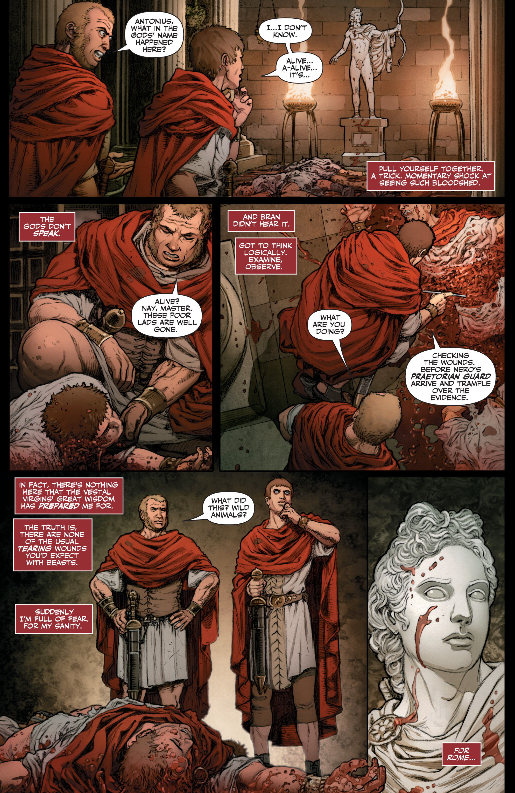 Read online Britannia: We Who Are About To Die comic -  Issue #1 - 10