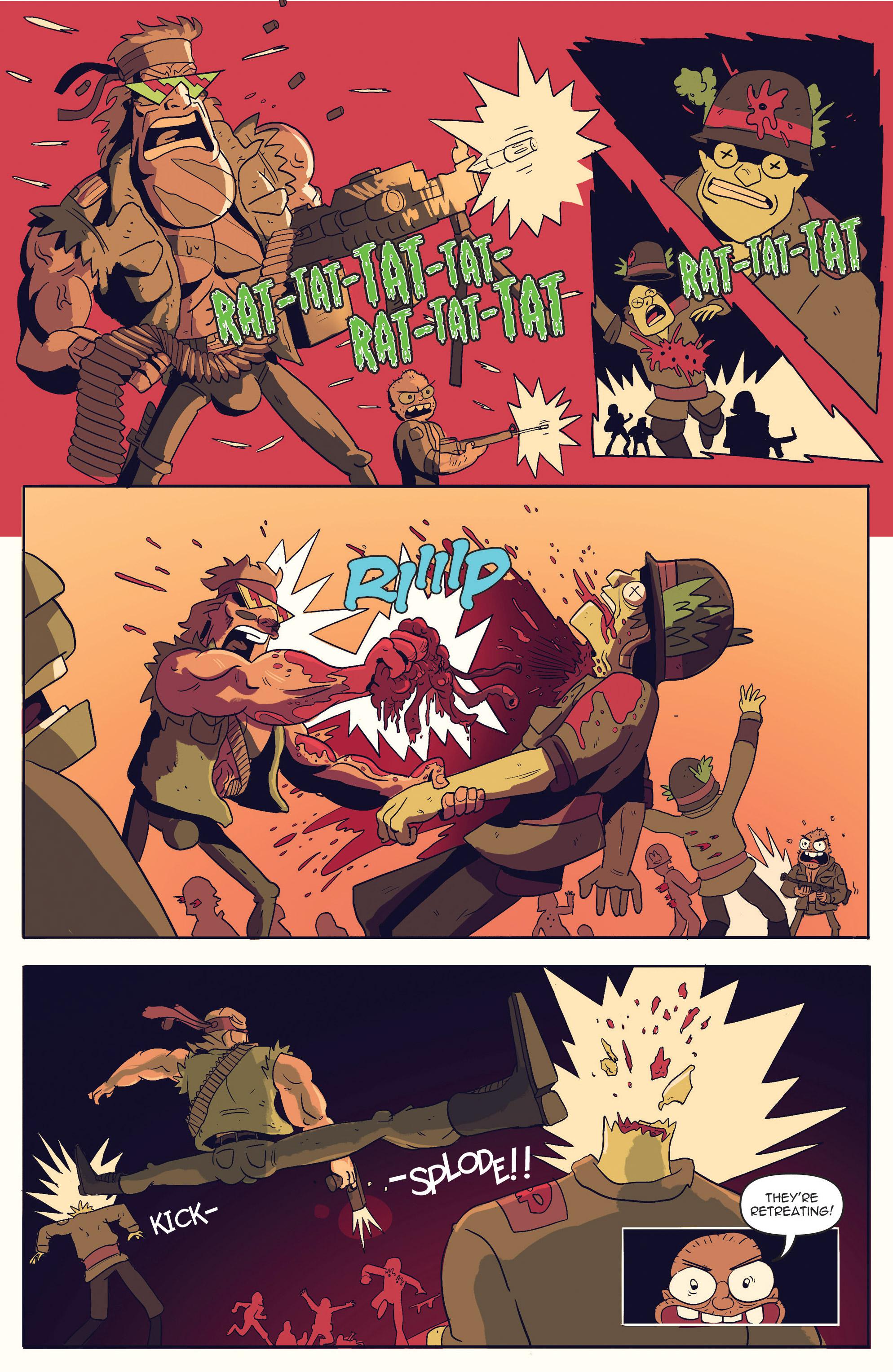 Read online AmeriKarate comic -  Issue #2 - 12