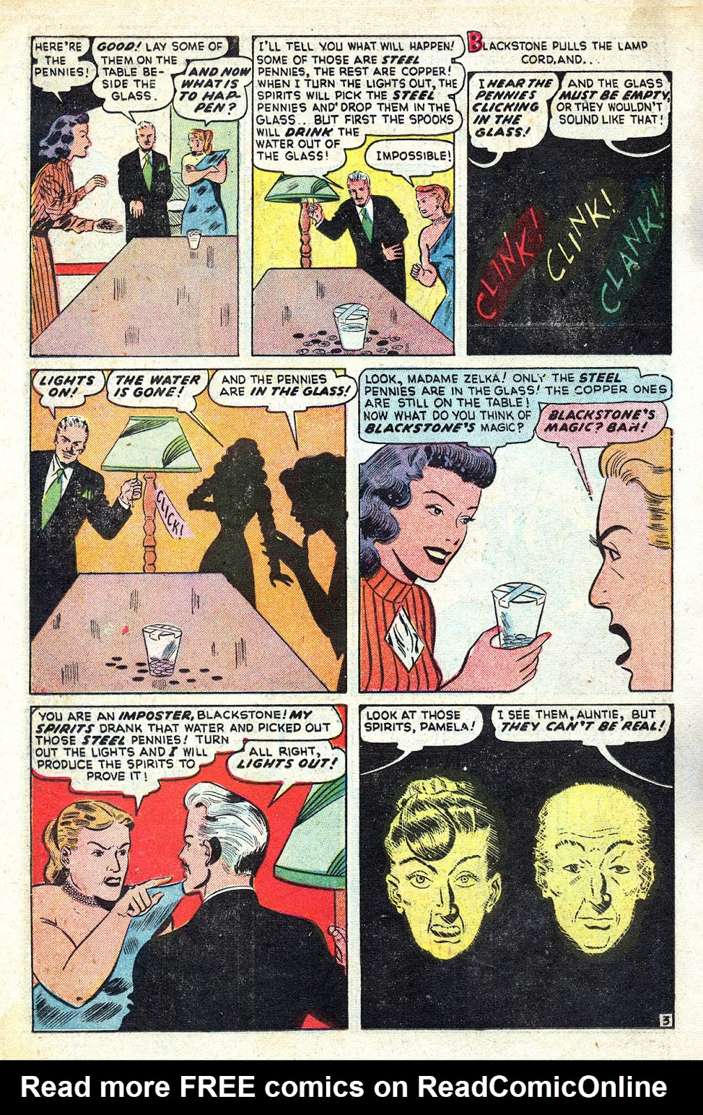 Read online Blackstone the Magician comic -  Issue #4 - 14