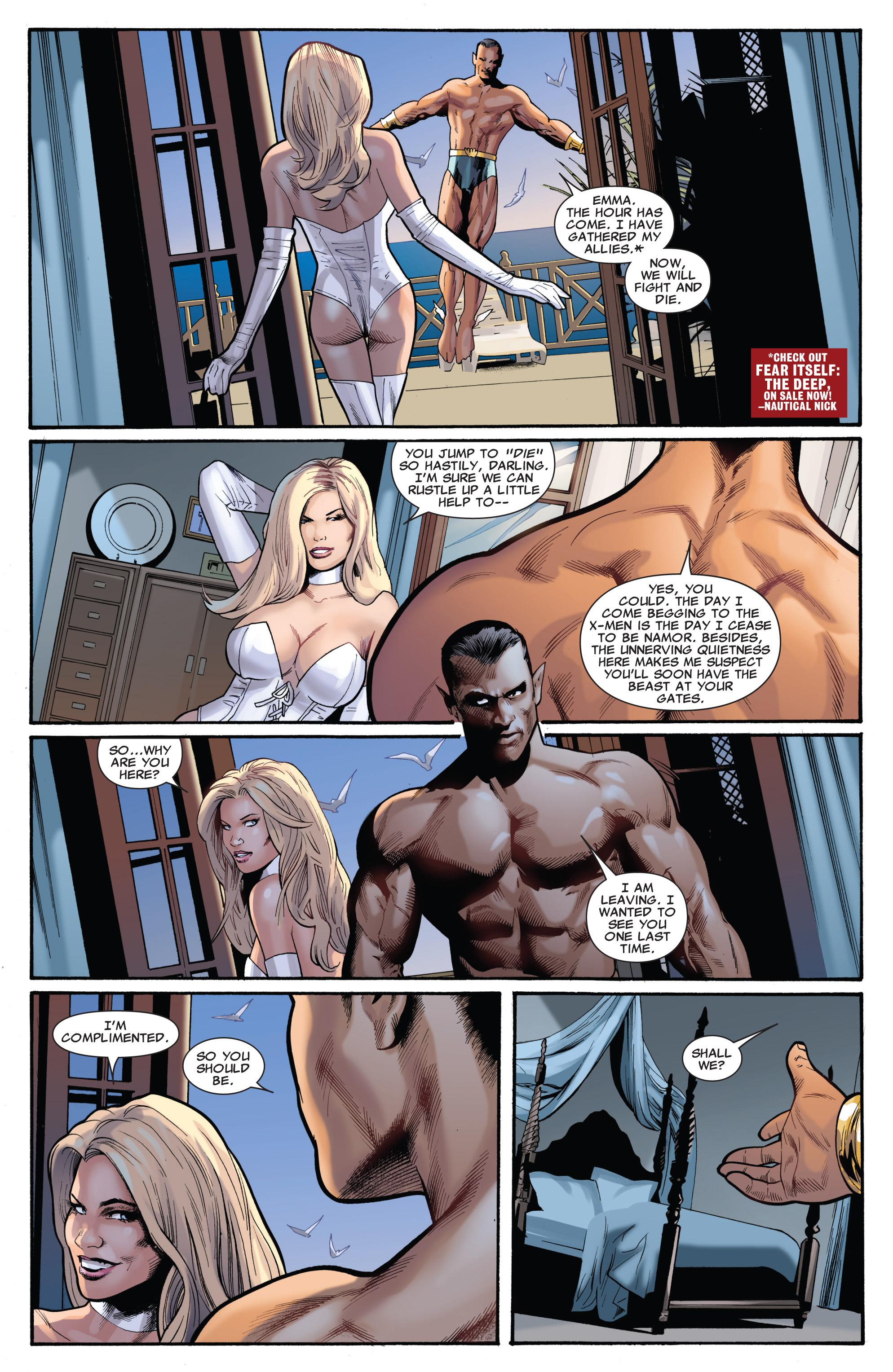 Read online Uncanny X-Men (1963) comic -  Issue #540 - 16
