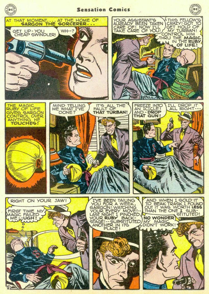 Read online Sensation (Mystery) Comics comic -  Issue #67 - 33
