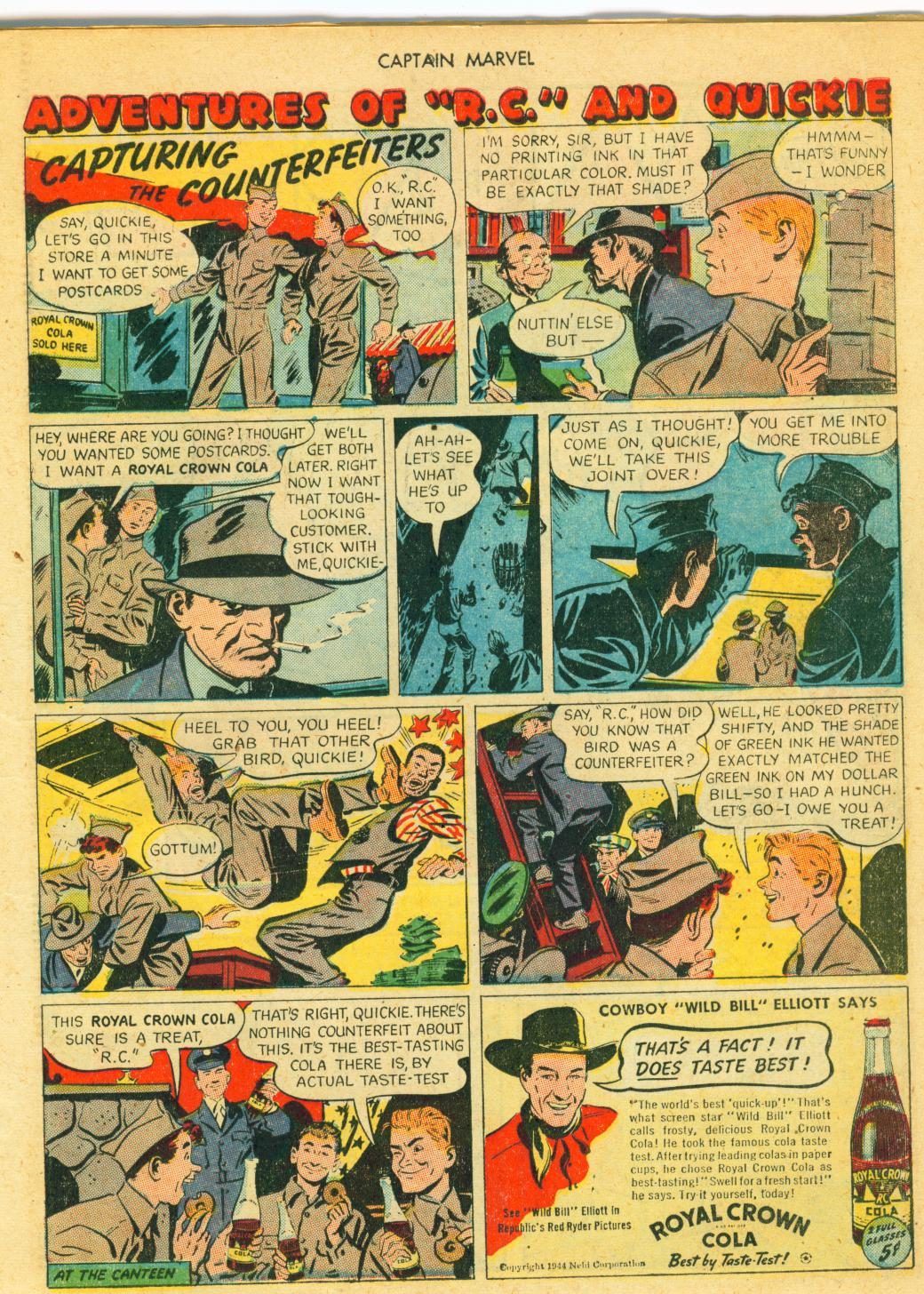Captain Marvel Adventures issue 41 - Page 19