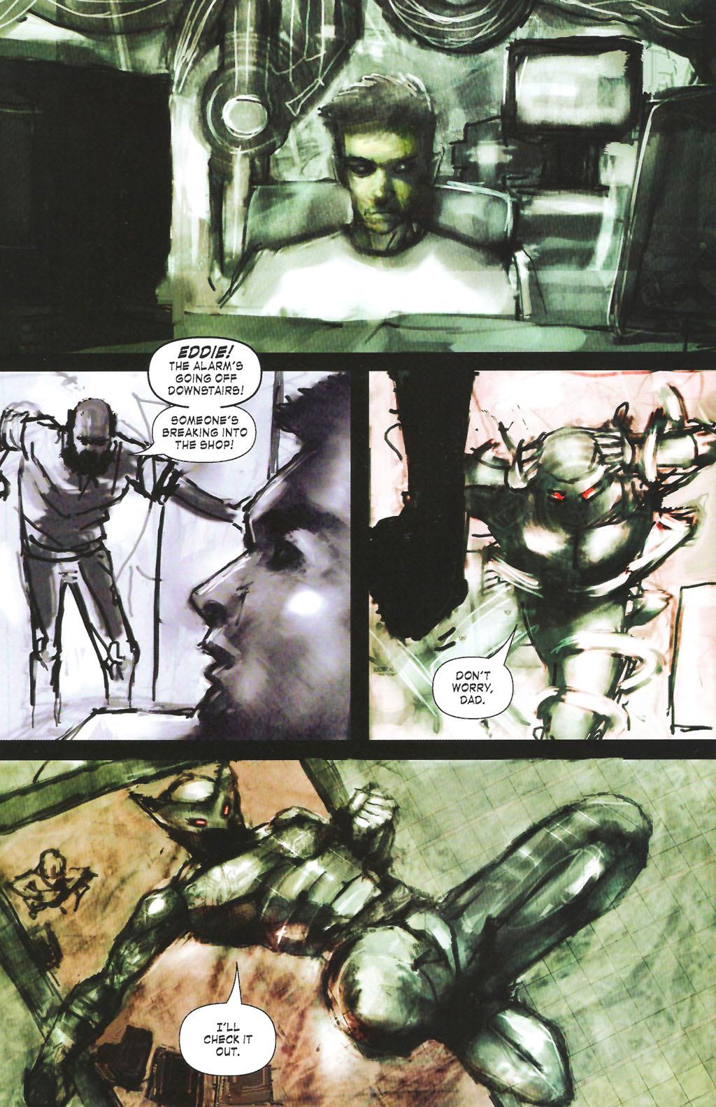 Read online ShadowHawk (2005) comic -  Issue #7 - 8