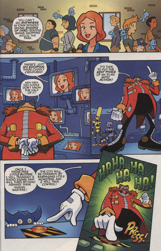 Read online Sonic X comic -  Issue #5 - 27